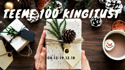 Teeme koos 100 kingitust