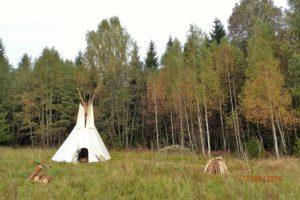 Visioonirännak- laagriplats